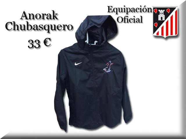 Anorak_Nike_beltza_Chubasquero_Nike_negro